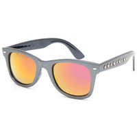 Blue Crown Star Stud Sunglasses Black One Size For Women 26326610001