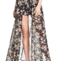 Leith Floral Print Shorts   Nordstrom