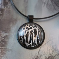 Huntsman Dark Forest Gothic Fairytale Necklace Pendant