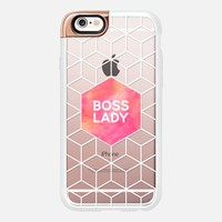 Boss Lady - Transparent 2 iPhone 6s case by Elisabeth Fredriksson | Casetify