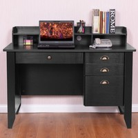 PC Laptop Writing Computer Desk This computer desk is perfect furniture for your home or office and will provide you with an unmatched convenience.