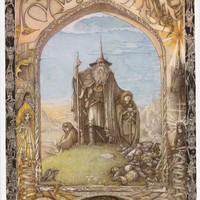 Lord of the Rings Fantasy Art Poster 24x36