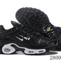 Hcxx 19July 1222 Nike Air Max Plus Two Swoosh Logo Retro Sports Flyknit Running Shoes