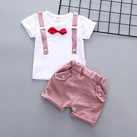 Summer Newborn Baby Casual Clothes