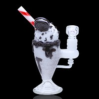 Empire Glassworks Chocolate Cookie Sundae Float Rig