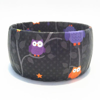 Halloween Bracelets with Colorful Owls, Halloween Bangle, Novelty Halloween Jewelry, Halloween Accessories