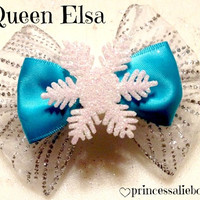 Frozen's Elsa Hair Bow