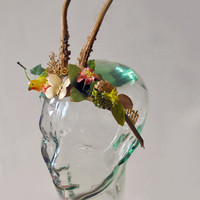 TIARA from 1880s Antique FRENCH Globe de by NeverNeverTraders