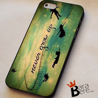 peter pan quotes iPhone 4s iphone 5 iphone 5s iphone 6 case, Samsung s3 samsung s4 samsung s5 note 3 note 4 case, iPod 4 5 Case