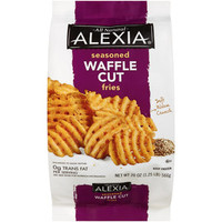 Walmart: Alexia Seasoned Waffle Cut Fries, 20 oz