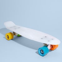 Stereo Vinyl Skateboard: Glow In The Dark
