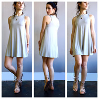 An Everyday Sundress in Silver