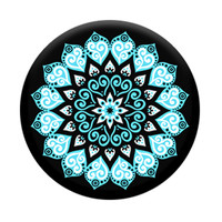 Expanding Stand and Grip for Smartphones and Tablets, Peace Mandala Sky