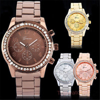 Geneva quartz watches