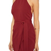 Missguided High Neck Halter Dress | Nordstrom