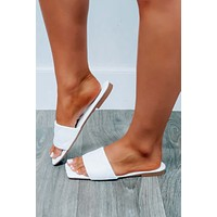 Ready To Board Sandals: White