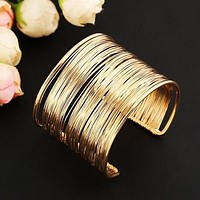 Fashion Multi-Layer Wire Cuff