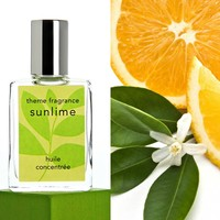 Sunlime ™ perfume oil. Lime, grapefruit, orange, citrus fresh.