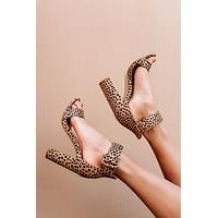 On The Radar Suede Cheetah Print Heels (Cheetah)