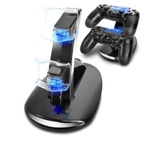 PS4 Accessories Joystick PS4 Charger Play Station 4 Dual Micro USB Charging Station Stand for SONY Playstation 4 PS4 Controller