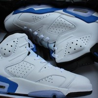 "Air Jordan 6 ""Sport Blue"" Sport Shoe"