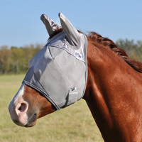 Crusader Pasture Fly Mask Standard Nose with Ears