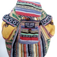 Recycled Travel Backpack #RL039473
