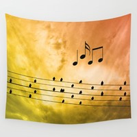 Autumn song Wall Tapestry by Pirmin Nohr