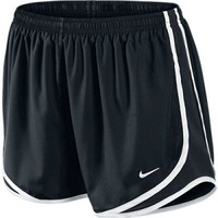 Women's Nike Tempo Running Shorts Black/White/Black at Sport Seasons