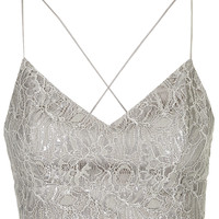 Lace Lurex Bralet