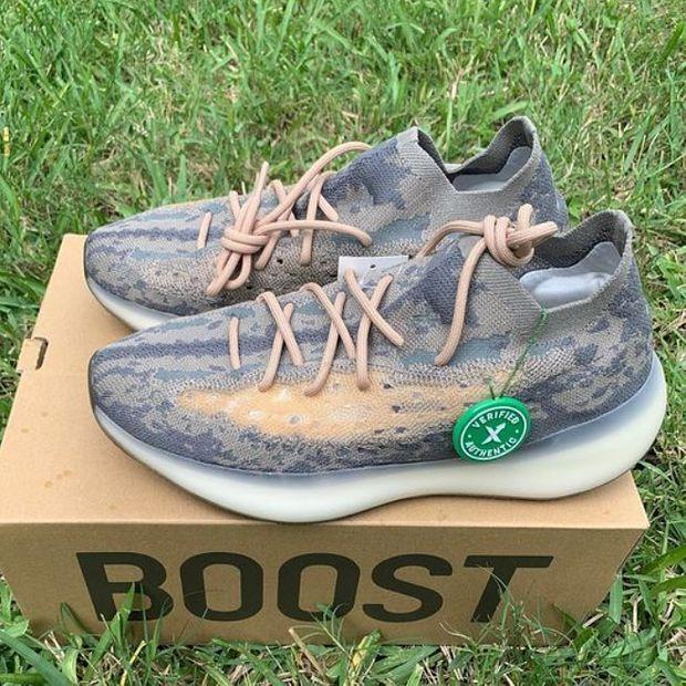Image of Adidas Yeezy Boost 380 Platform Sports Running Shoes