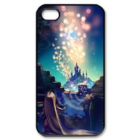 Diy Case Tangled Iphone 4/4S Case Hard Case Fits Sprint, T-mobile, AT&T and Verizon IPhone 4s Case 101491