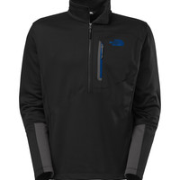 The North Face Canyonlands Half Zip Pullover for Men in Black CUG0-X3X