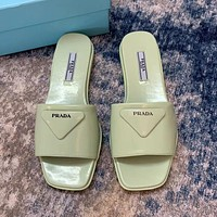 Prada summer new women's fashionable simple slippers shoes