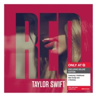 Taylor Swift – Red Deluxe – with 6 bonus tracks - Only at Target
