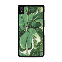 banana leaves Sony Xperia Z3 Case