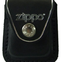 Zippo Lighter Pouch Loop Brown Gifts Accessories High Quality Durable