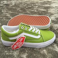 VANS 2018 counter new trend fashion high top sports shoes F-CSXY green