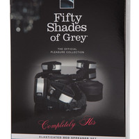 Fifty Shade Of Grey Completely His Bed Spreader W-elasticated Straps