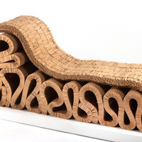 """""""Bubbles"""" Chaise by Frank Gehry"""
