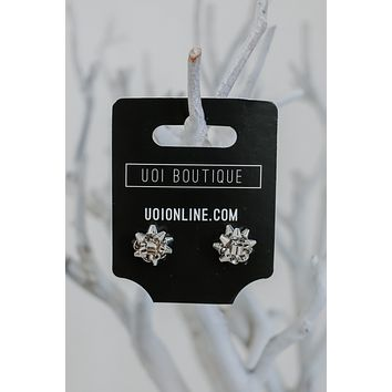 Under The Tree Earrings - Silver