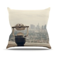 "Catherine McDonald ""The View LA"" Throw Pillow"