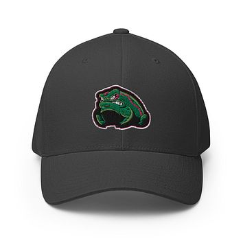 Gay Frogs Flexfit Structured Twill Fitted Cap