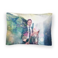 Dreamy Trudeau Bed Pillow Case by Shelfies