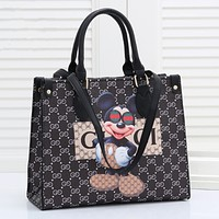 GUCCI Newest Popular Women Leather Tote Crossbody Satchel Shoulder Bag Handbag