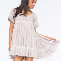 Sea Gypsies To The Sea Babydoll Dress Violet  In Sizes