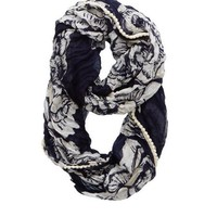 Aerie Women's Beach Floral Loop Scarf