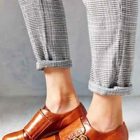 Jeffrey Campbell Ogden Triple Strap Oxford- Tan