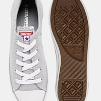 Converse Dainty Dolphin Grey Plimsoll Trainers
