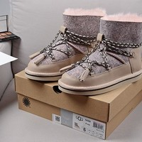 Women's UGG snow boots warm cotton shoes _1686248855-355